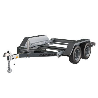 Karavan Trailer's 69 x 95 In. 10000# GVWR Industrial Trailer, model number WGT-10000-TEB-67