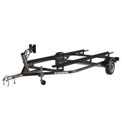 Karavan Trailer's Single Axel Mini Pontoon Trailer, model number KDP-1415-BT