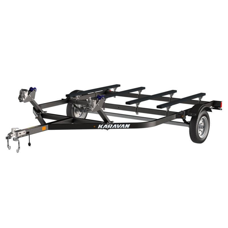 Karavan Trailer's Double Watercraft Steel Trailer, model number WC-1250-86-BT