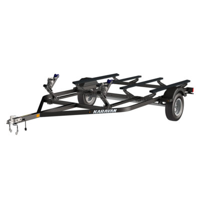 Karavan Trailer's Double Watercraft Steel Trailer w/Step Fender, model number WC-2200-84-S-BT