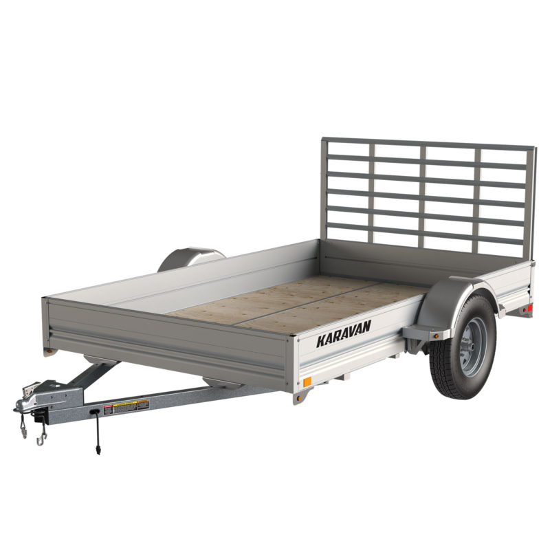 Karavan Trailer's 6 x 10 Ft. Aluminum Utility Trailer, model number SCU-299--SP-72-10-LP