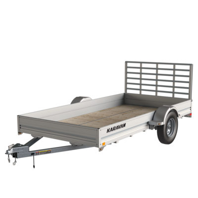 Karavan Trailer's 6 x 12 Ft. Aluminum Utility Trailer, model number SCU-2990-SP-72-12-LP