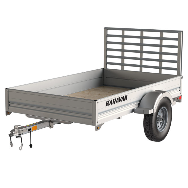 Karavan Trailer's 4.5 x 8 Ft. Aluminum Utility Trailer, model number SCU-2200-T-56