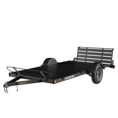 Karavan Trailer's 6.5 x 14 Ft. Steel Floor Utility Trailer, model number KUS-2990-78-14-BT