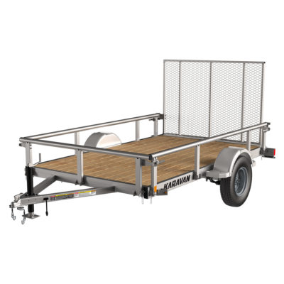 Karavan Trailer's 6 x 10 Ft. Steel Utility Trailer, model number 2990-72-10-GG