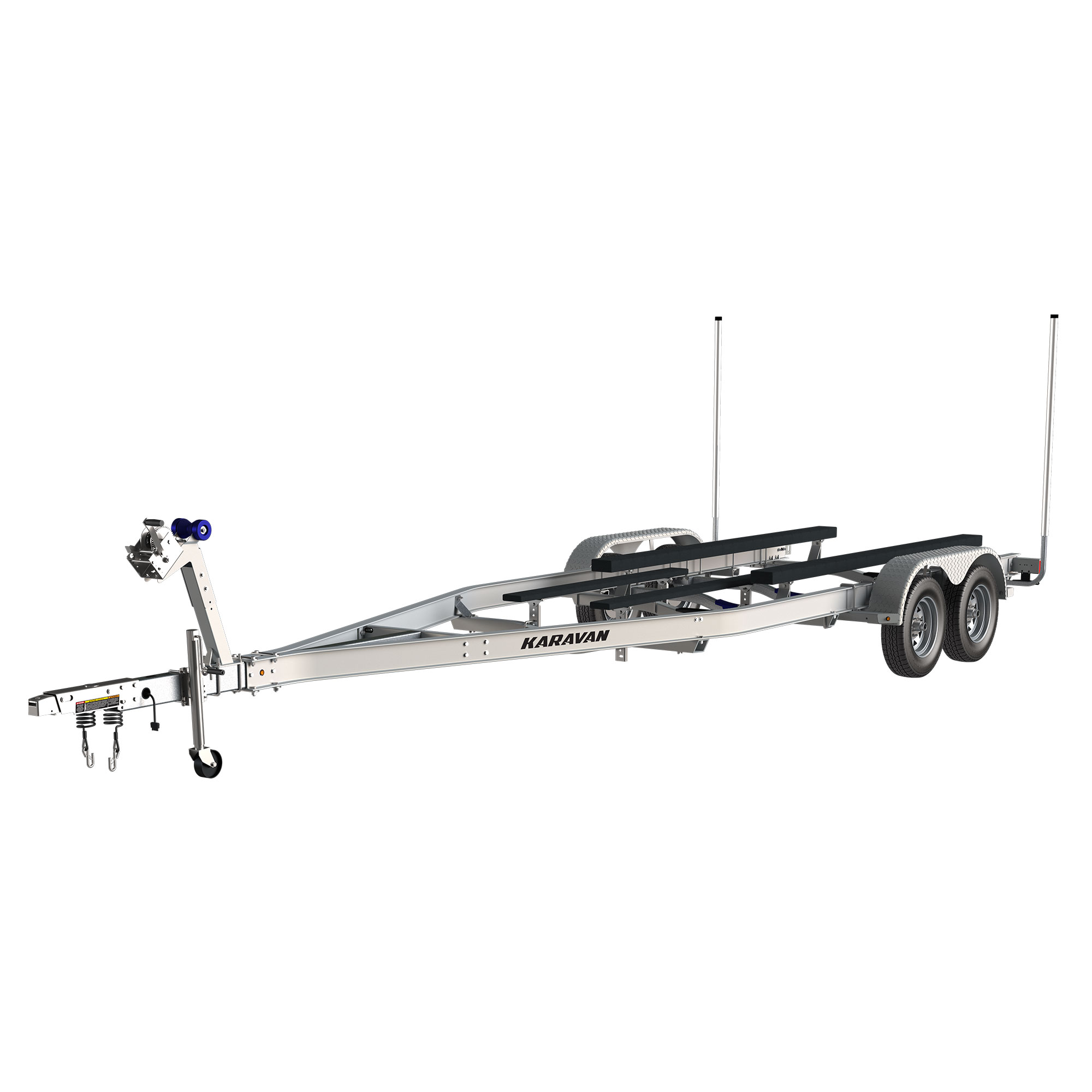 Karavan Trailer's Tandem Axel Aluminum 5800# Bunk Trailer, model number SLT-5800-78