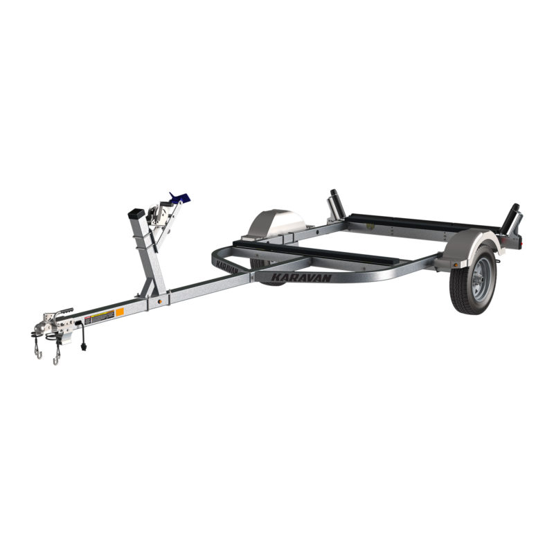 Karavan Trailer's Single Axel 1500# Drift Boat Trailer, model number KDB-1500-71-GL