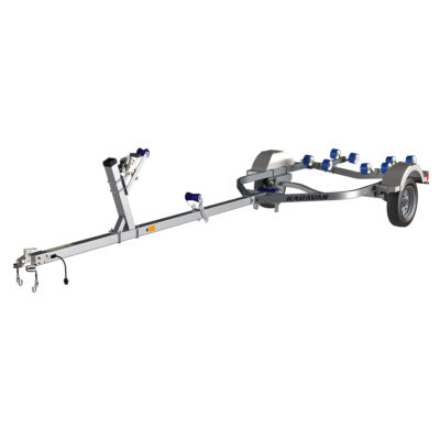 Karavan Trailer's Single Axel 1500# Wide Roller Trailer, model number KR-1500-56-GL