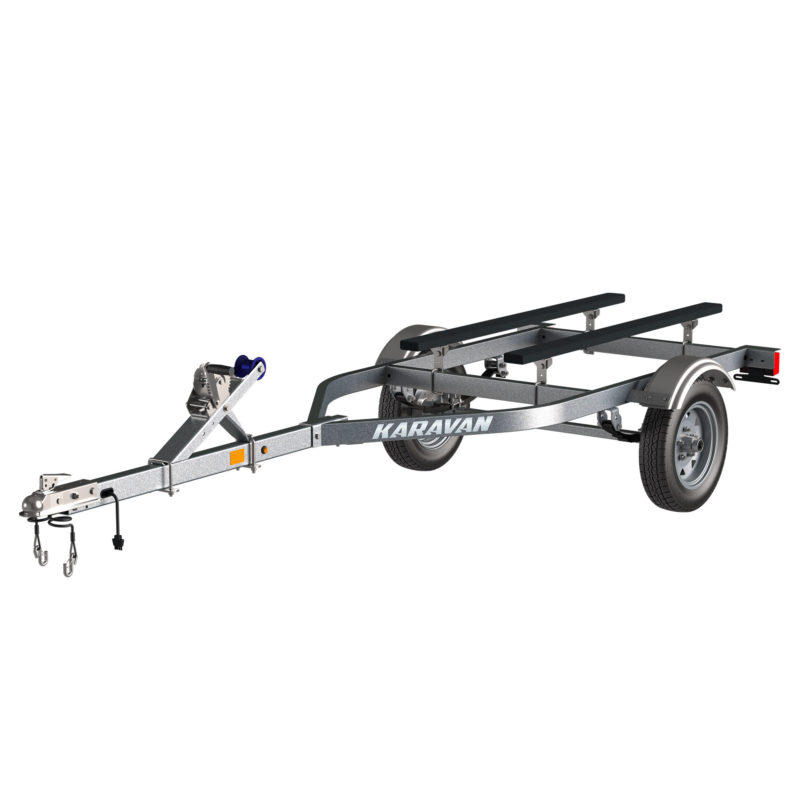 Karavan Trailer's Single Watercraft Steel Trailer, model number WCE-1250-40-GL
