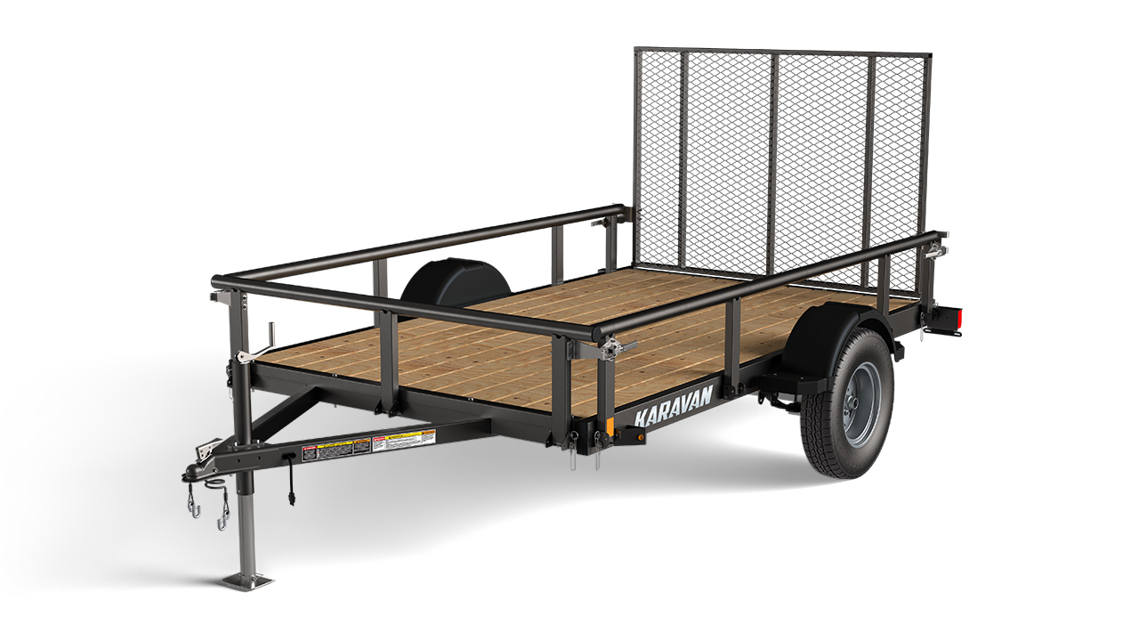 Karavan Trailer's 6 x 10 Ft. Steel Utility Trailer, model number 2990-72-10-BT